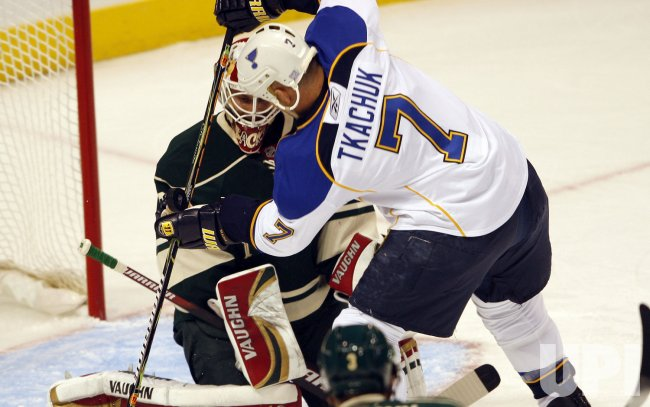 St. Louis Blues Keith Tkachuk