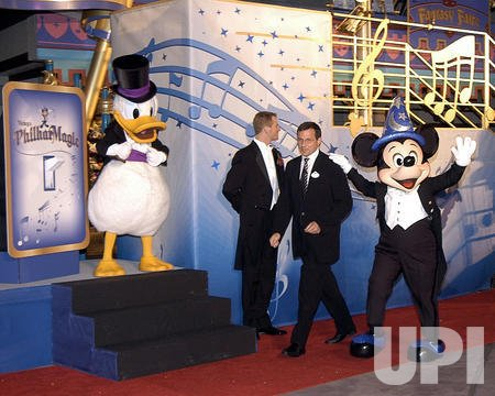 DISNEY OPENS NEWEST ATTRACTION PHILHARMAGIC