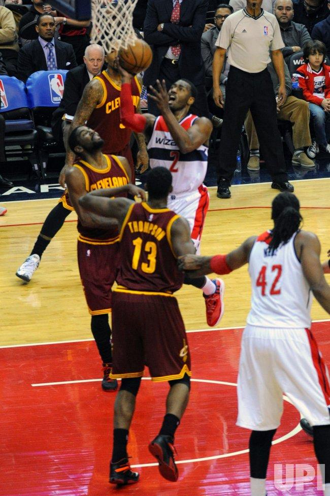 Washington Wizards vs Cleveland Cavaliers in Washington