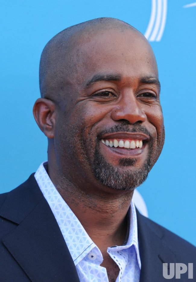 Darius Rucker arrives at the ACM Awards in Las Vegas
