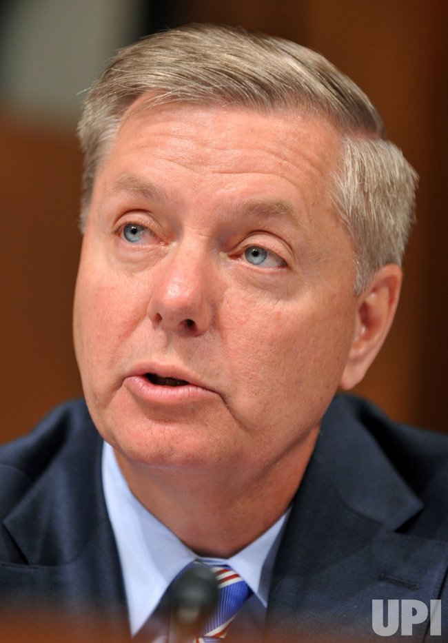 Sen. Lindsey Graham questions Supreme Court nominee Elena Kagan in Washington