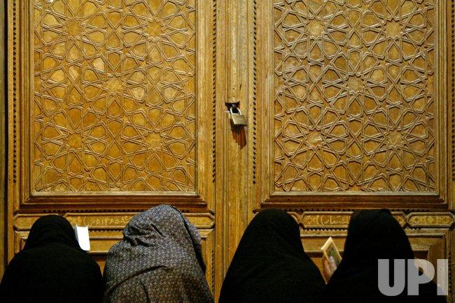 Mourning ceremony during Ramadan in Iran
