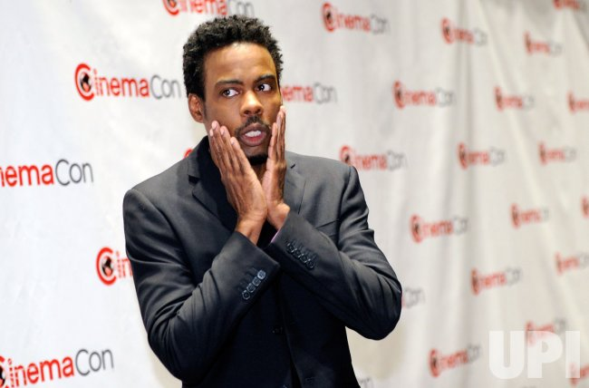 Chris Rock arrives at the 2012 CinemaCon in Las Vegas