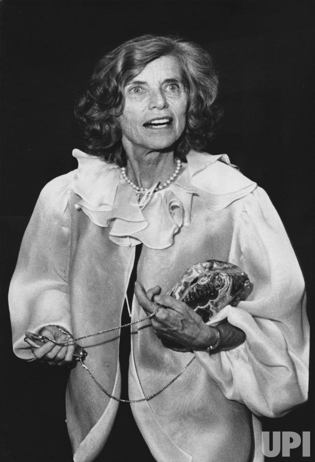 Eunice Kennedy Shriver at a Kennedy Library fundraiser
