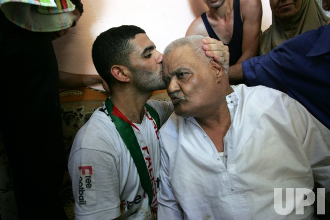Israel a Released Palestinian football Player Sarssak