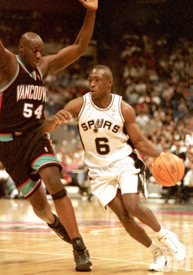 San Antonio Spurs vs Vancouver Grizzlies