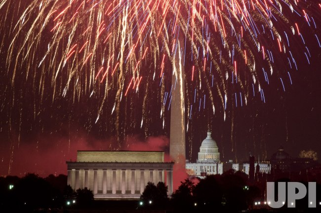 Independence Day Fireworks in Washington, D.C.