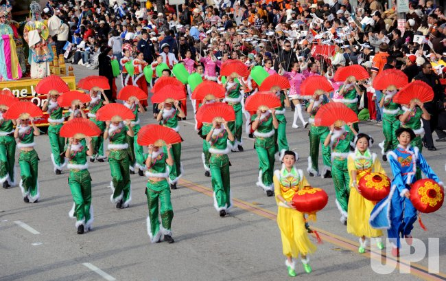 119th annual Rose Parade in Pasadena, California