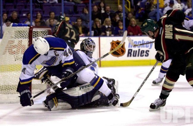 Minnesota Wild vs St. Louis Blues NHL hockey