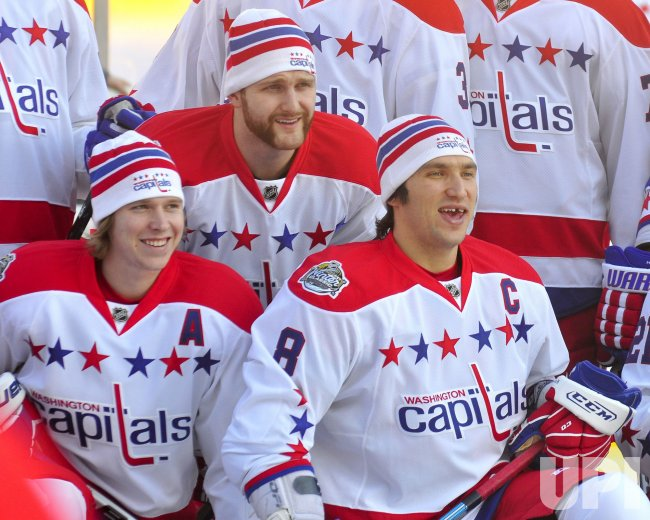 Alex Ovechkin and Washington Capitals Bridgestone Winter Classic in Pittsburgh