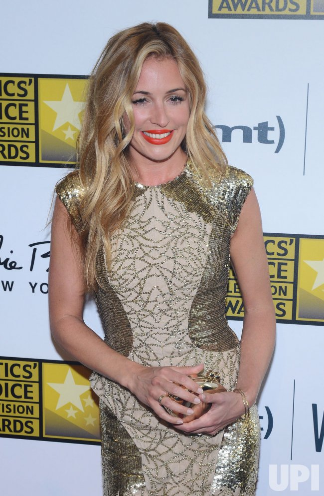 Cat Deeley attends the 3rd annual Critics' Choice Television Awards in Beverly Hills, California