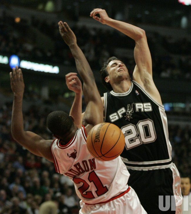 NBA SAN ANTONIO SPURS VS. CHICAGO BULLS
