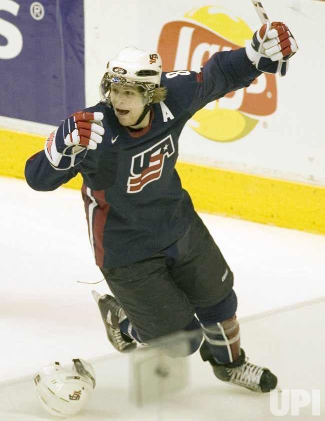 WORLD JUNIOR HOCKEY CHAMPIONSHIPS, U.S.A. VS. CZECH REPUBLIC