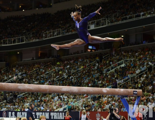 Women's 2012 Olympic Trials in Gymnastics in San Jose, California