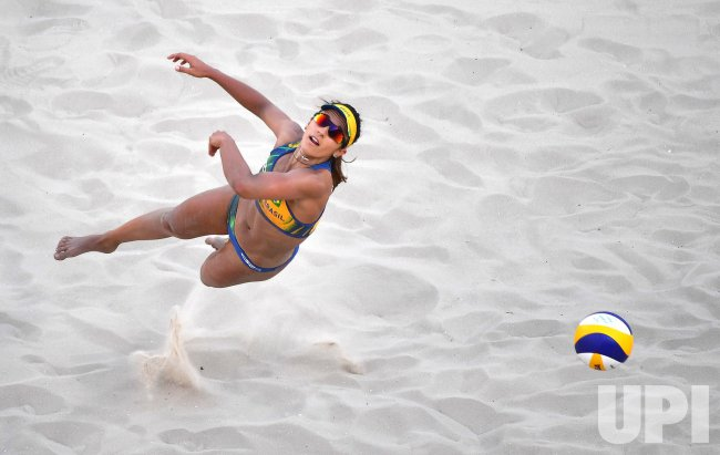 Beach Volleyball Brazil vs. Czech Republic at the Rio Summer Olympics
