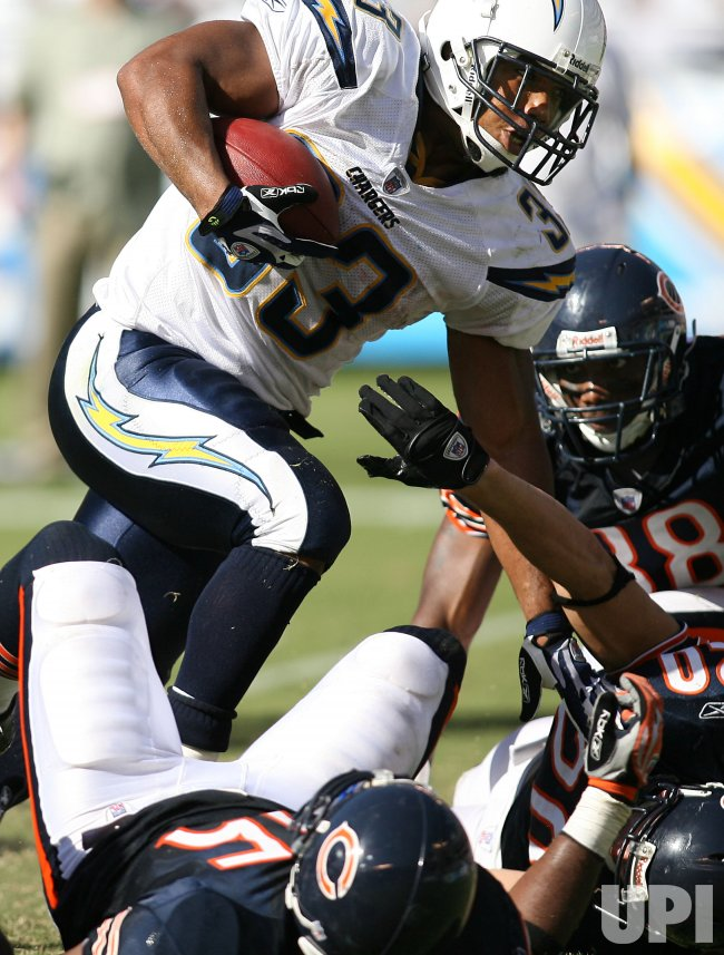 CHICAGO BEARS VS SAN DIEGO CHARGERS