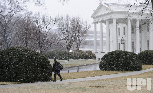 Snow Storm hits Washington
