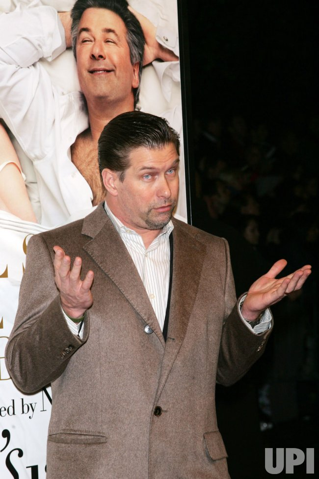 """Stephen Baldwin arrives for the premiere of """"It's Complicated"""" in New York"""