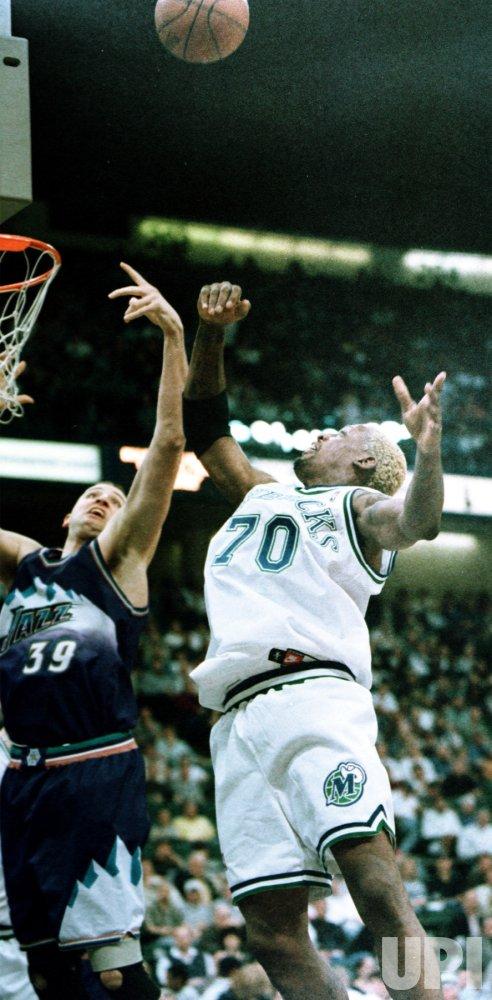 Dallas' Dennis Rodman