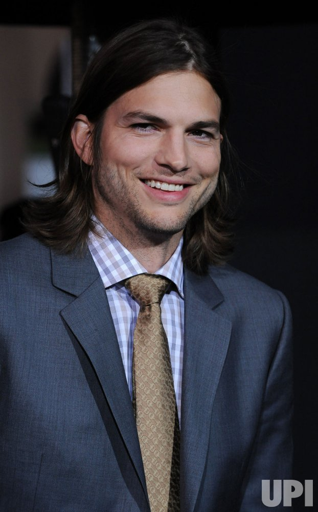 "Ashton Kutcher attends the ""New Year's Eve"" premiere in Los Angeles"