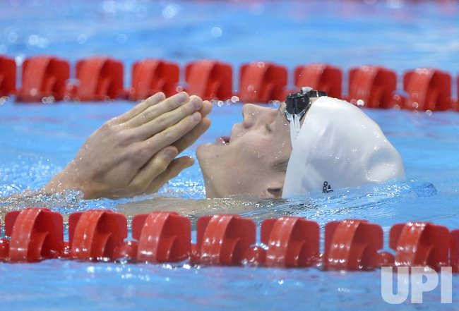 Men's 200M Freestyle Final at 2012 Olympics in London