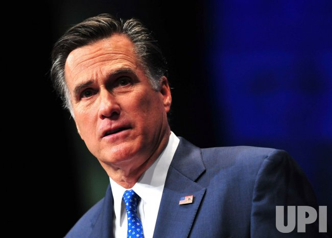 Presidential Candidate Mitt Romney speaks at CPAC in Washington