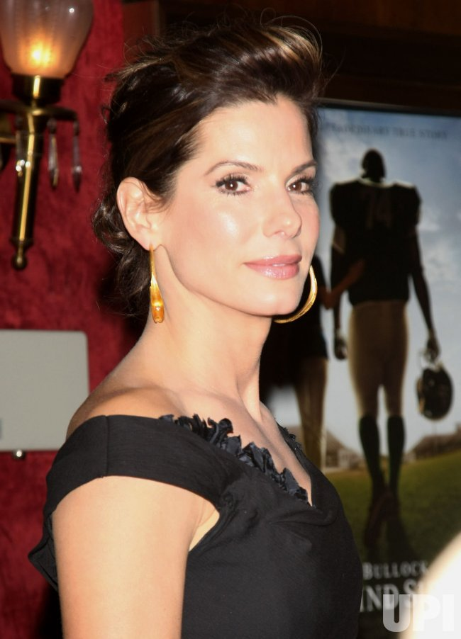 "Sandra Bullock attends ""The Blind Side"" movie premiere in New York"