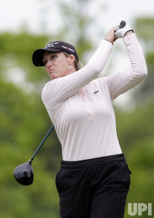 Cristie Kerr at the Sybase Match Play Championship at Hamilton Farm Golf Club in Gladstone NJ