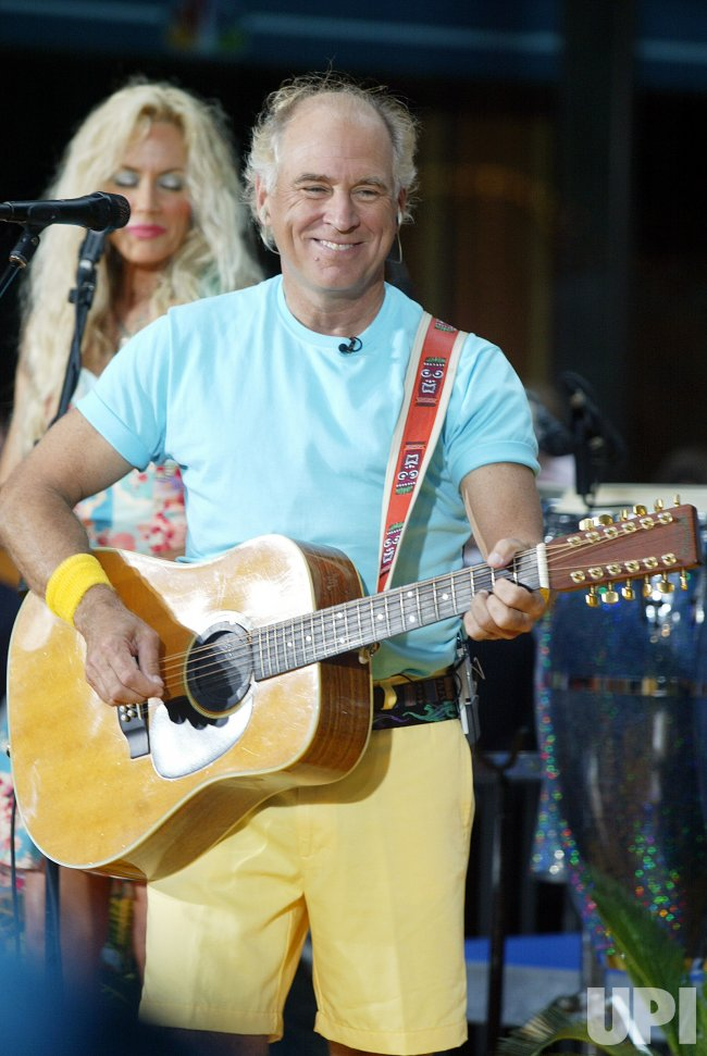 Jimmy Buffett performs on the NBC Today Show Summer Concert Series