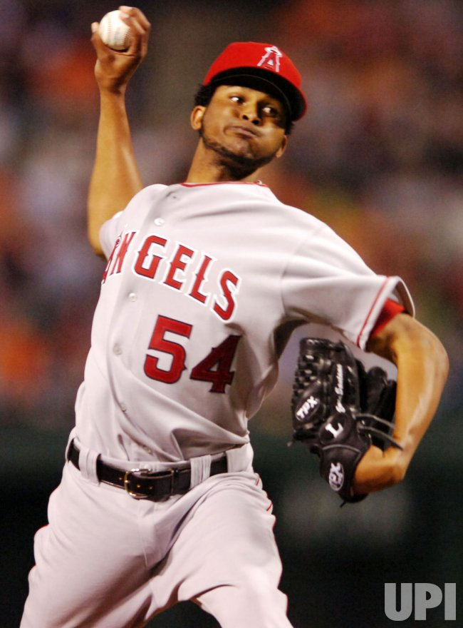 LOS ANGLES ANGELS VS BALTIMORE ORIOLES
