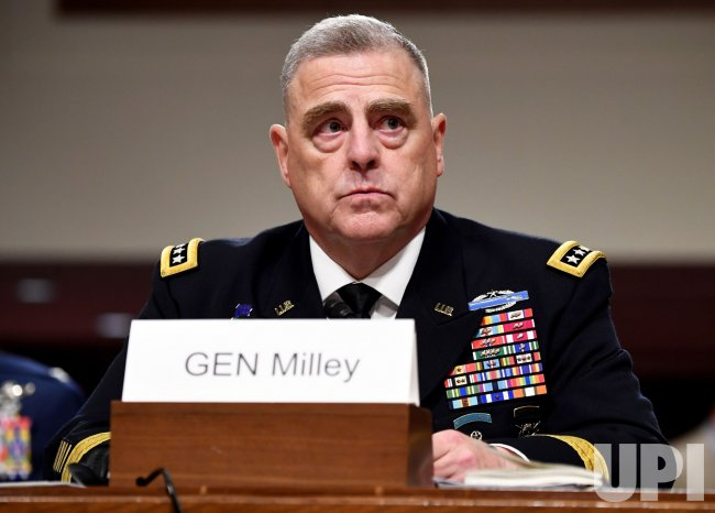 Mark A  Milley Chairman of the Joint Chiefs of Staff Confirmation