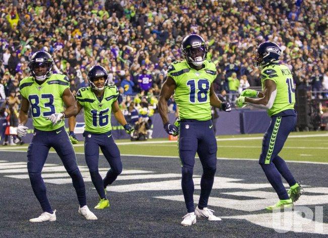 Seahawks beat the Vikings 37-30 in Seattle