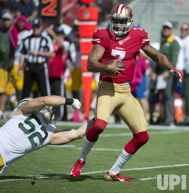 Green Bay misses shot at 49ers Kaepernick