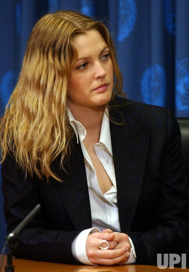 "DREW BARRYMORE NAMED ""A FRIEND OF THE UNITED NATIONS"""