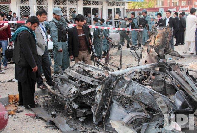 Afghan Taliban Attack Capital City