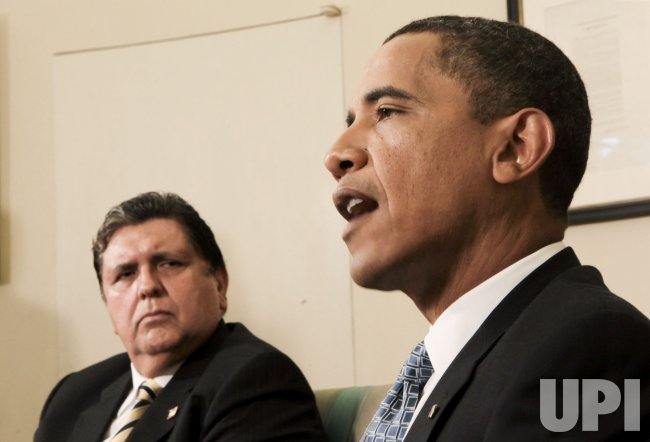 President Alan Garcia of Peru meets with U.S. President Obama in Washington