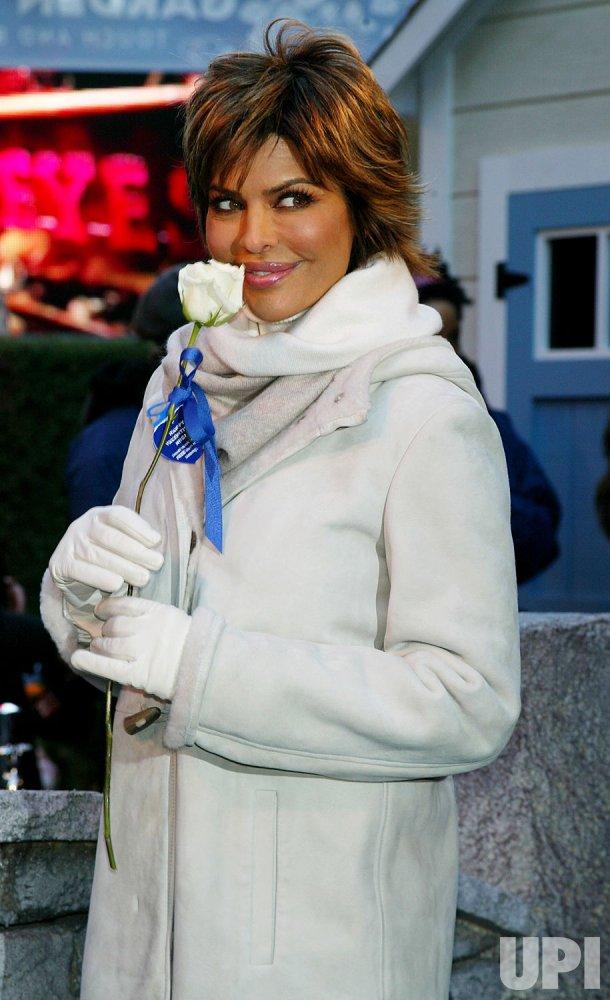 Lisa Rinna Valentine's Day event in New York