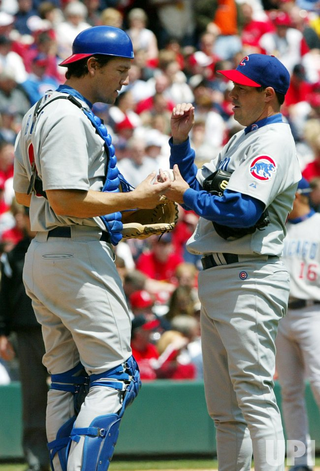 CHICAGO CUBS VS ST. LOUIS CARDINALS BASEBALL