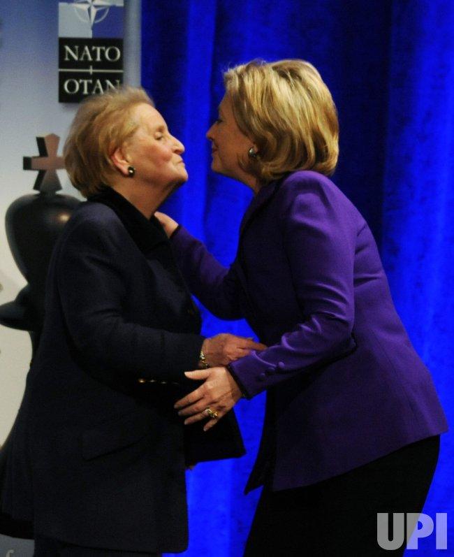 Sec. Clinton speaks on future of NATO in Washington.