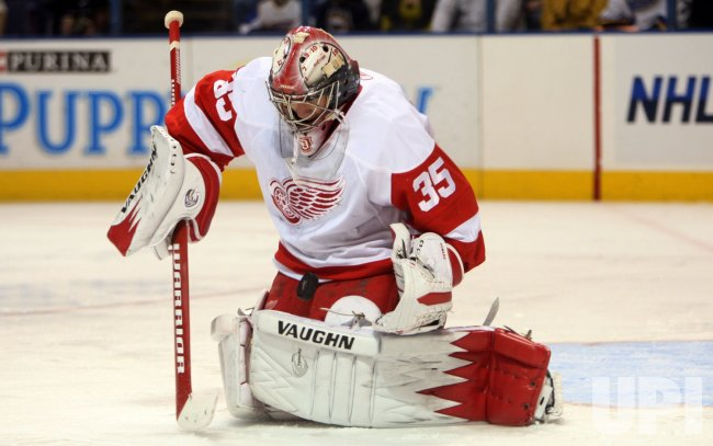 Detroit Red Wings Jimmy Howard