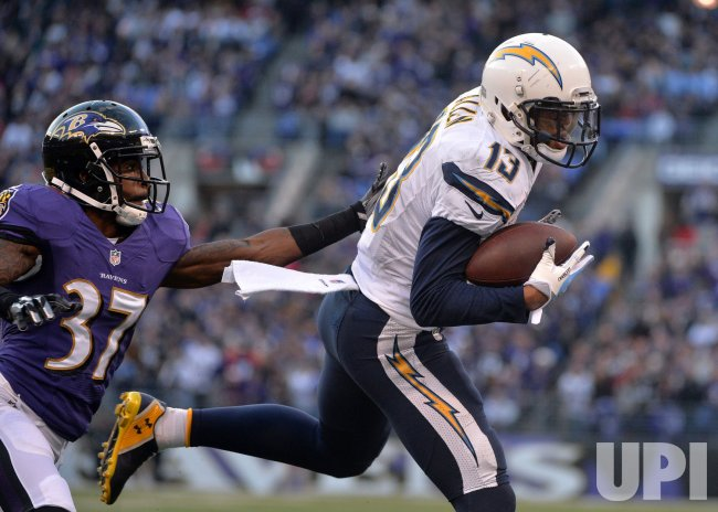 San Diego Chargers vs. Baltimore Ravens in Baltimore, Maryland