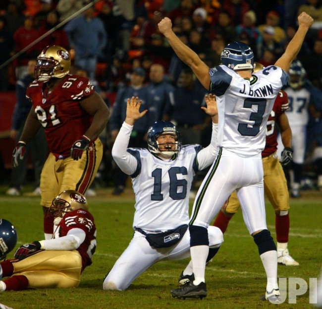 NFL FOOTBALL SAN FRANCISCO 49ERS vs.SEATTLE SEAHAWKS