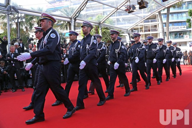 French national police at the cannes film festival for Police cannes