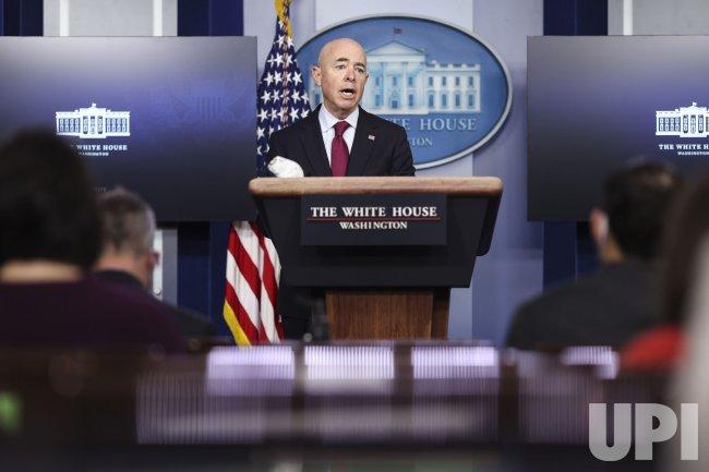White House press briefing in Washington, DC