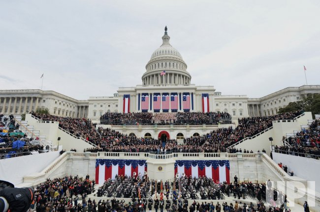 UPI Pictures of the Year 2017 -- INAUGURATION