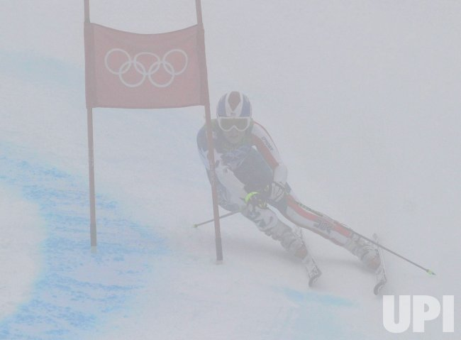 USA's Lindsey Vonn competes in the Women's Giant Slalom in Whistler