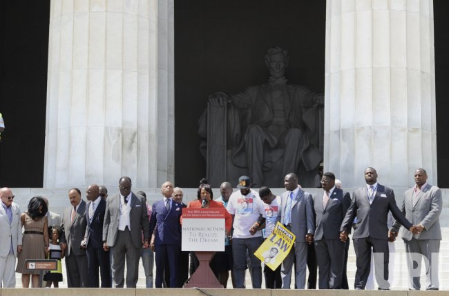 Speakers mark the 50th anniversary of MLK I Have a Dream Speech in Washington DC