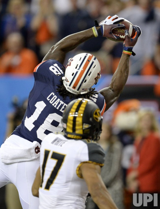Auburn plays Missouri for the SEC Football Championship in Atlanta