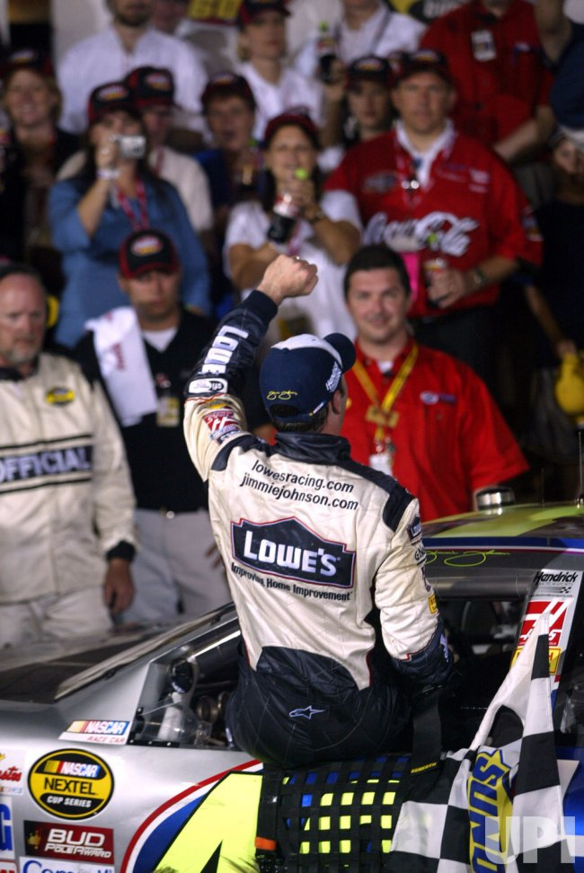 JIMMIE JOHNSON WINS COCA-COLA 600 NASCAR RACE