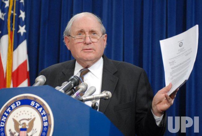 Sen. Levin speaks on National Defense Authorization Act in Washington